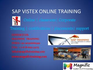 SAP VISTEX ONLINE TRAINING IN HYDERABAD