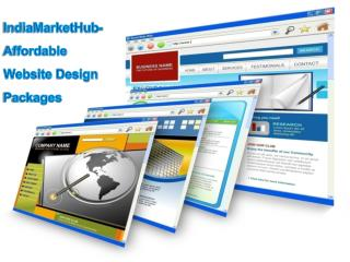 IndiaMarketHub | Affordable Web Designing Chandigarh | Creat