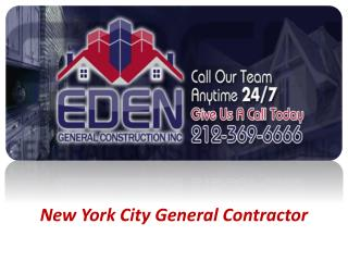 New York City General Contractor