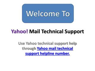 Yahoo Technical Support Contact Number | 1-888-278-0808