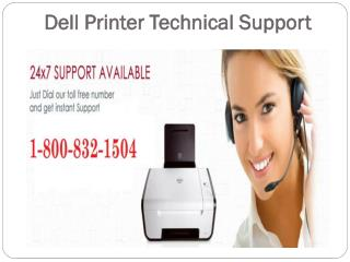 Dell Printer Technical Support 1-800-832-1504 | Toll Free