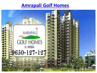 Amrapali Golf Homes @9650-127-127 Apartments Noida Extension