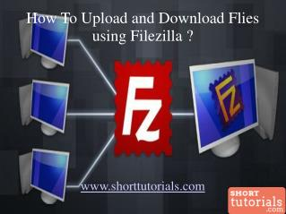 Upload and Download Files using Filezilla