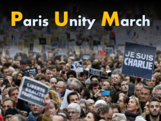 Paris Unity March