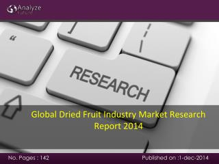 Global Dried Fruit Industry Market Research Report 2014