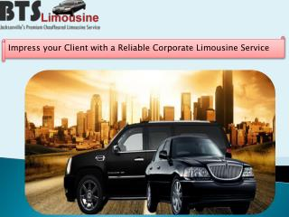 Impress your Client with a Reliable Corporate Limousine Serv