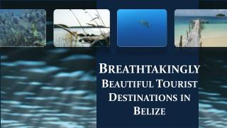 Breathtakingly Beautiful Tourist Destinations in Belize.