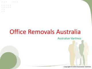 Office Removals Australia