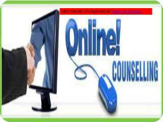 free online counseling services provided by Cheer Up Service