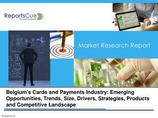 Belgium's Cards and Payments Industry: Emerging Opportunitie