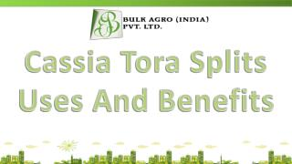 Cassia Tora Splits Uses And Benefits