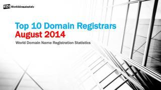 Top 10 Domain Registrars