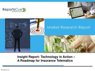 Insight Report: Technology in Action - A Roadmap for Insuran