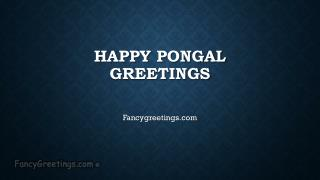 Happy Pongal Greetings / Wishes 2015