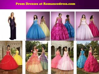 Prom Dresses at Romancedress.com