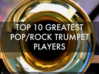 Joe Liotine - Top 10 Greatest Pop/Rock Trumpet Players