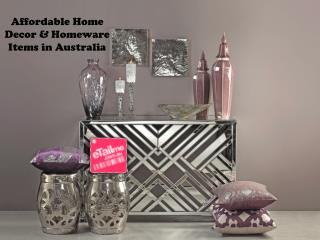 Affordable Home Decor & Homeware Items in Australia