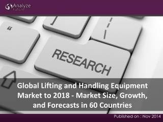 Latest Report on Lifting and Handling Equipment Markets Size