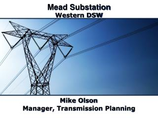 Mead Substation