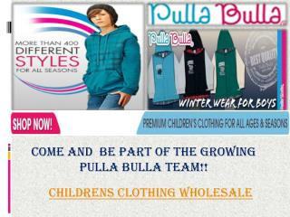 Childrens Clothing Wholesale
