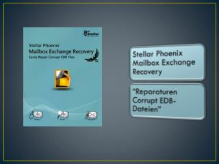 Stellar Mail box Exchange Recovery