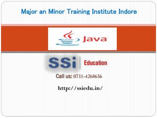Java Major Project Training in Indore