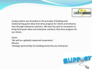 Loukya Systems | Best Software Development Companies in Chen