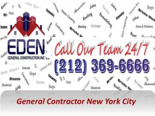 General Contractor New York City