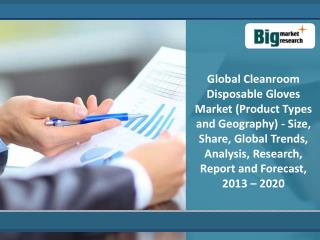 Global Cleanroom Disposable Gloves Market 2020
