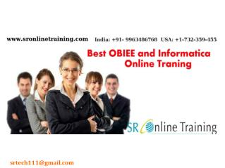 Best Online OBIEE Training