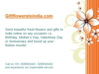 Send flowers, cakes and gifts to your love ones on Birthday