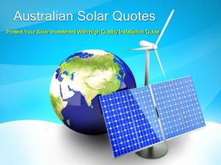 Protect Your Solar Investment With High Quality Installation