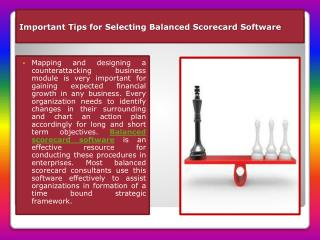 Balanced Scorecard Software