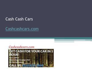 Cash Cash Cars - Cashcashcars.com