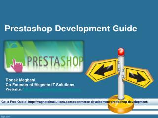 Prestashop Development Guide, Feature and Useful Resource