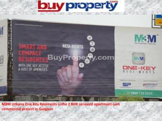 M3M Group Launched, M3M One Key Resiments-sector 67 Gurgaon