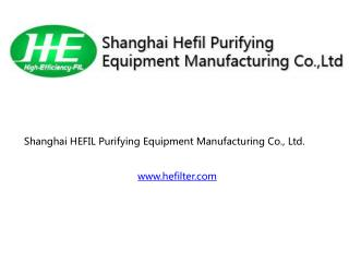 HEFILTER clean room equipment products