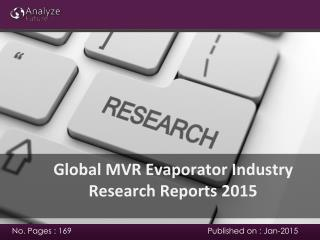 2015 MVR Evaporator Industry Industry analysis