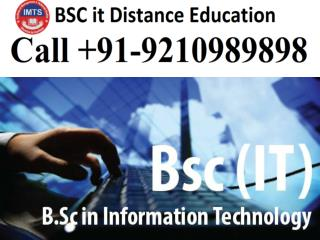 BSC IT Distance Education