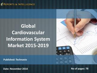 Global Cardiovascular Information System Market 2015-2019