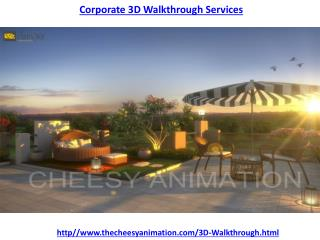 Corporate 3D Walkthrough Service