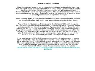 travel-smoothly-using-the-best-airport-transfer-service-prov