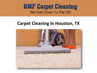 Houston, TX Carpet Cleaning