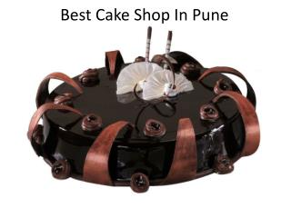 Best Cake Shop in Pune