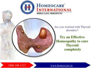 Stimulate your Thyroid Gland through Homeopathy Approach