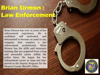 Brian Sirmon - Law Enforcement