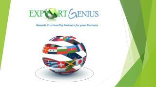 Export Import Shipment Data Export Import Trade Data