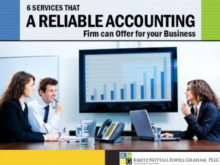 CPA Accounting Firm for Small Businesses