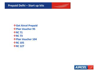 Get Perfect Startup kits for Prepaid Mobile