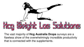 Hcg Australia Provide Good Weight Loss